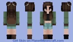 Kaehi | Green | Oc Minecraft Skin