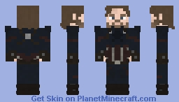 Nomad | The MCU | Infinity War Minecraft Skin
