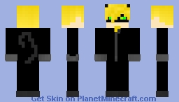 Chat_Noir - Miraculous Ladybug Minecraft Skin