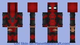 Custom Deadpool Minecraft Skin