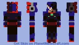 """This will be... DYNAMITE!""  Blast Man- MegaMan 11 Minecraft Skin"
