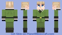 Hetalia- Germany/Doitsu Minecraft Skin
