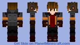 Jeretsty holloween retextured Minecraft Skin