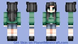 Sweater Weather Minecraft Skin