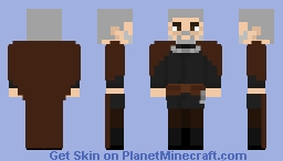 Count Dooku - Star Wars: Attack of the Clones Minecraft Skin