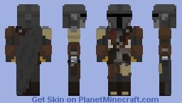 The Mandalorian - Star Wars: The Mandalorian Minecraft Skin