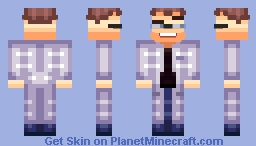 James the handsome scientist (Laboratory Experiments Skin Contest) Minecraft