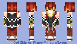 ⚠️Take you far away from this planet Earth...⚠️ [707/Lusiel/Saeyoung Choi | Mystic Messenger: New Story | Read Desc!] Minecraft Skin