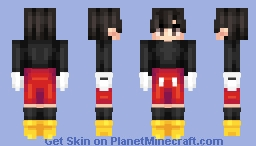 ♢ Mickey ♢ Minecraft Skin