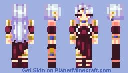 Misaki the Spirit (and ART) ~POPREEL!!~ Minecraft Skin