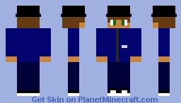 Jamiroquai (Virtual Insanity Music Video) Minecraft Skin