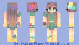 autumn breeze Minecraft Skin