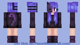 """Devil's Advocate"" Remake - Teammate's skin contest Minecraft Skin"