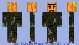 The Pumpkin Harvester Minecraft Skin