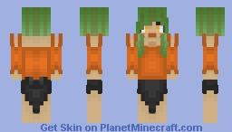 Pumpkin ~ [Skintober Day 3] Minecraft Skin