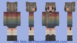 Comfy Rainbows Minecraft Skin