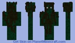 seaweed person Minecraft Skin