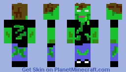 the infected X-By GRTgamerT Minecraft Skin