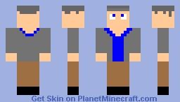 Lab Technician (Boy) Minecraft Skin