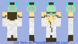 Lab Assistant Minecraft Skin