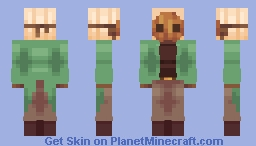 Tea and Candles Minecraft Skin