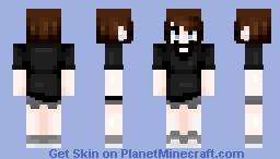 i aint happy Minecraft Skin
