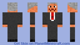 Wise Old Man Graham Minecraft Skin
