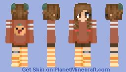 Pumpkin Sweater for Mangled Minecraft Skin