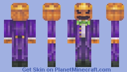 Skintober day 3: Pumpkin Minecraft