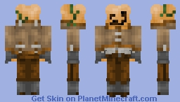 ℒℊ ~ Pumpkin Patch Man | For the Halloween Community Event! | Minecraft Skin