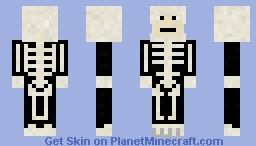 Halloween Skeleton (Karate Kid) Minecraft Skin