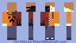 Halloween SuperGamez1234 Minecraft Skin