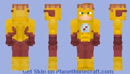 "Wally West ""Kid Flash"" (Pre-52) Justice Craft Minecraft Skin"