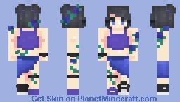 𝒷𝓁𝑜𝑜𝓂 ⁻ˢᵏᶦⁿ ᶜᵒⁿᵗᵉˢᵗ⁻ Minecraft Skin