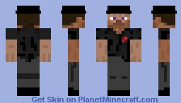 Gangster Steve Minecraft Skin