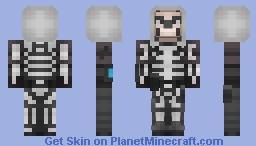 Skull Trooper (Fortnite) Minecraft Skin