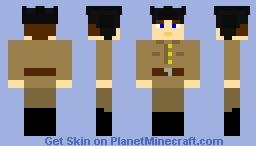 Soviet Tanker WW2 Minecraft Skin
