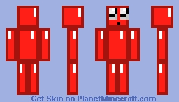 RED DIAMOND Minecraft Skin