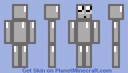 GREY DIAMOND Minecraft Skin