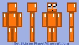 ORANGE DIAMOND Minecraft Skin