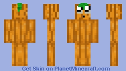 Kawaii Pumpking Minecraft Skin