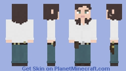 Maggie Rhee | The Walking Dead | 9x01 Minecraft Skin