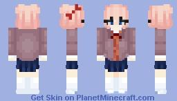 Doki Doki Literature Club! ~ Sayori Minecraft Skin