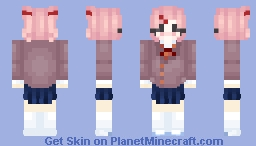 Doki Doki Literature Club! ~ Natsuki Minecraft Skin