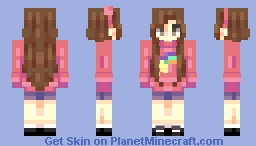 ~mabel pines~ Minecraft Skin