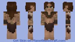 [LotC] Wildling Girl Minecraft Skin