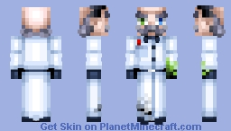 Insane Scientist - Laboratory Experiments Skin Contest Minecraft Skin