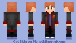"Ron Weasley ""It's not a dog!"" (Harry Potter and the Prisoner Of Azkaban) Minecraft Skin"