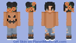 Oh How Spoopy (Male Version) Minecraft Skin