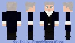 Peter Capaldi - The Twelfth Doctor (Doctor Who) Minecraft Skin
